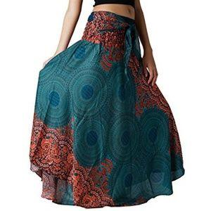 Dresses & Skirts - BANGKOK PANTS LONG HIPPIE BOHO SKIRT